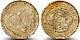 5 центов 2016 Сейшельские острова UNC
