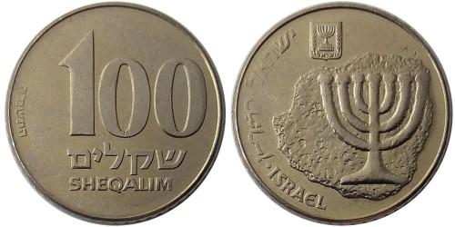 100 шекелей 1985 Израиль