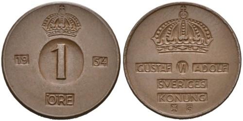 1 эре 1954 Швеция
