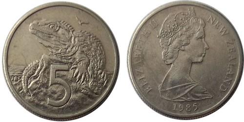 5 центов 1985 Новая Зеландия