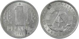 1 пфенниг 1986 «А» ГДР