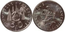 50 франков 2009 Новая Каледония