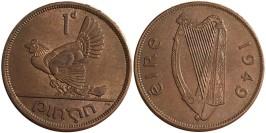 1 пенни 1949 Ирландия