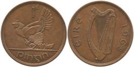 1 пенни 1965 Ирландия