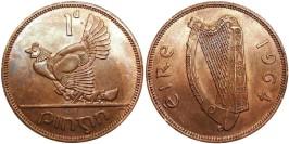 1 пенни 1964 Ирландия