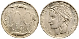 100 лир 1993 Италия