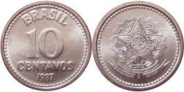 10 сентаво 1987 Бразилия
