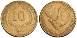 10 сентесимо 1966 Чили
