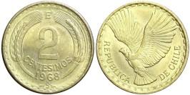 2 сентесимо 1968 Чили