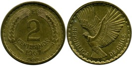 2 сентесимо 1967 Чили