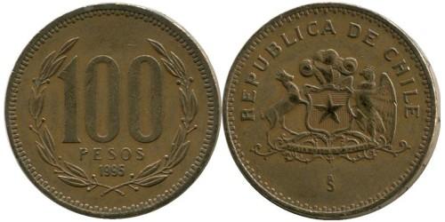 100 песо 1995 Чили