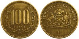 100 песо 1997 Чили