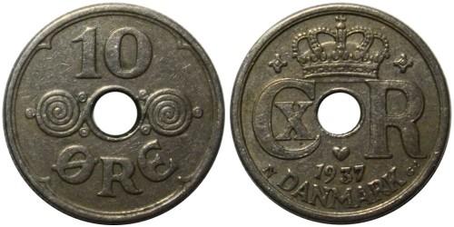 10 эре 1937 Дания