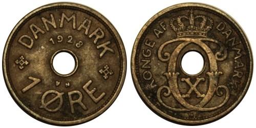 1 эре 1928 Дания