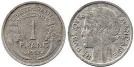 1 франк 1957 В Франция