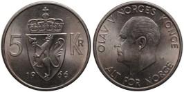 5 крон 1966 Норвегия