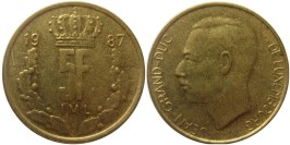 5 франков 1987 Люксембург