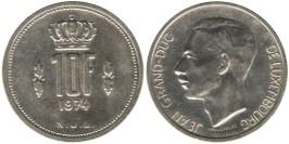 10 франков 1974 Люксембург