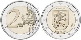 2 евро 2017 Латвии — Курземе