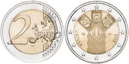 2 евро 2018 Литва — 100 лет государствам Балтики