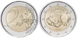 2 евро 2015 Испания — ЮНЕСКО — Пещера Альтамира