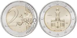 2 евро 2015 «D» Германия — Церковь Св Павла во Франкфурт-на-Майне — Гессен