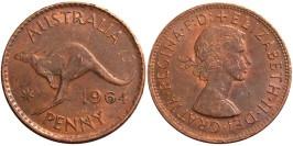 1 пенни 1964 Австралия