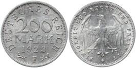 200 марок 1923 Германия — Веймарская республика — F