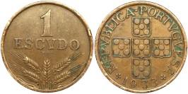 1 эскудо 1973 Португалия