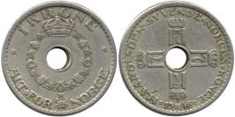1 крона 1946 Норвегия