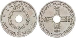 1 крона 1949 Норвегия