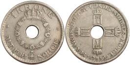 1 крона 1950 Норвегия
