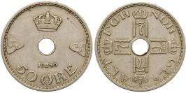 50 эре 1940 Норвегия