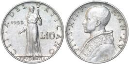 10 лир 1953 Ватикан