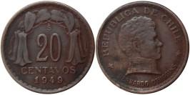 20 сентаво 1949 Чили