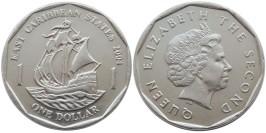 1 доллар 2004 Восточные Карибы