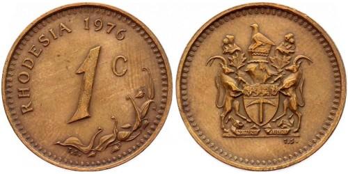 1 цент 1976 Родезия