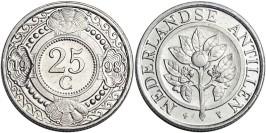 25 центов 1998 Нидерландские Антильские острова