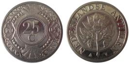 25 центов 2004 Нидерландские Антильские острова