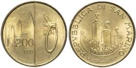 200 лир 1993 Сан-Марино UNC