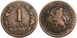 1 цент 1878 Нидерланды