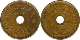 2 эре 1938 Дания