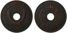 10 центов 1941 Британская Восточная Африка