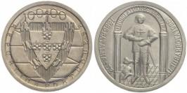 100 эскудо 1985 Португалия — 600 лет Битве при Альжубаротте