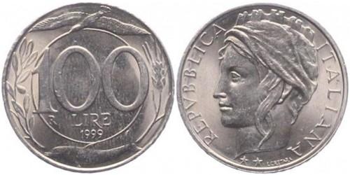 100 лир 1999 Италия