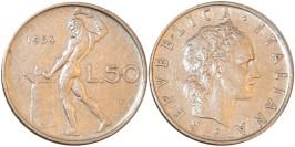 50 лир 1954 Италия