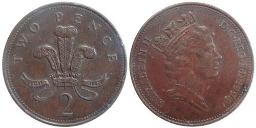 2 пенса 1994 Великобритания
