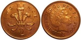 2 пенса 2000 Великобритания