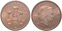2 пенса 2002 Великобритания