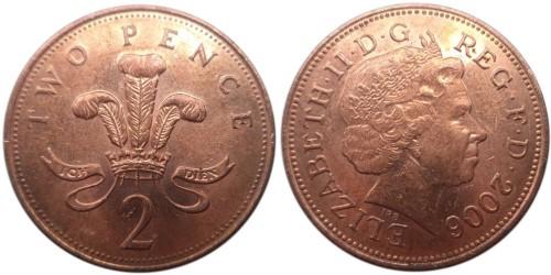 2 пенса 2006 Великобритания